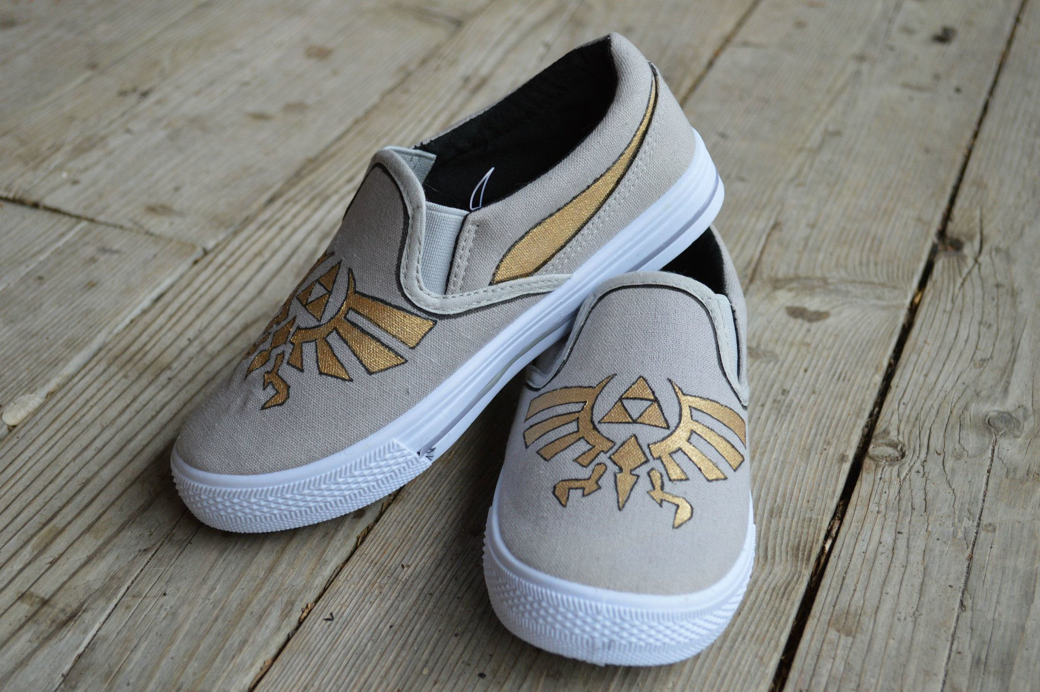 The Legend of Zelda sneakers by SheriffKarli