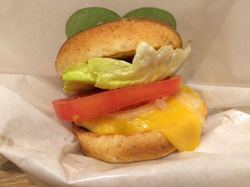 ローカーボなハンバーガー