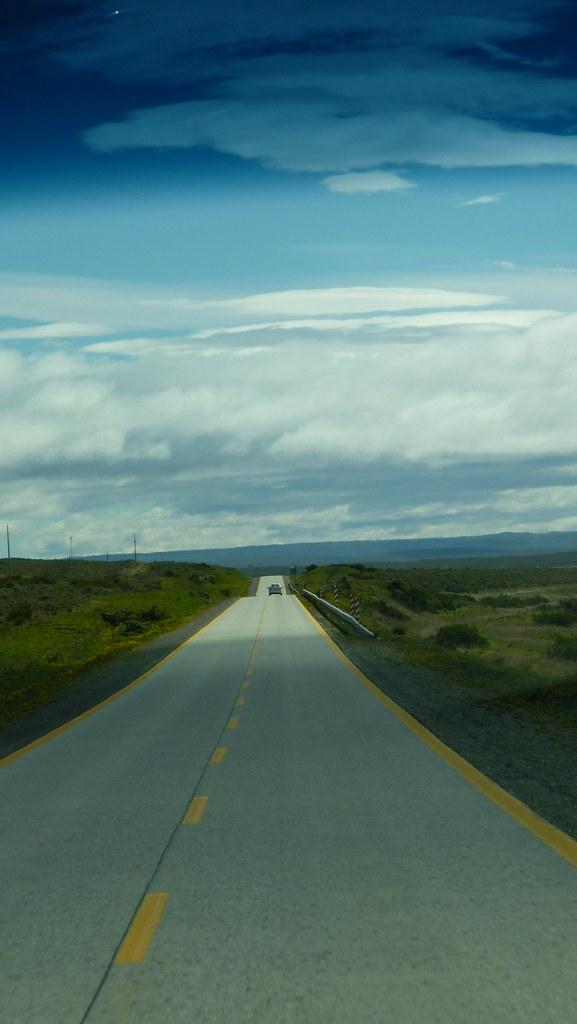 The long way through Patagonia...