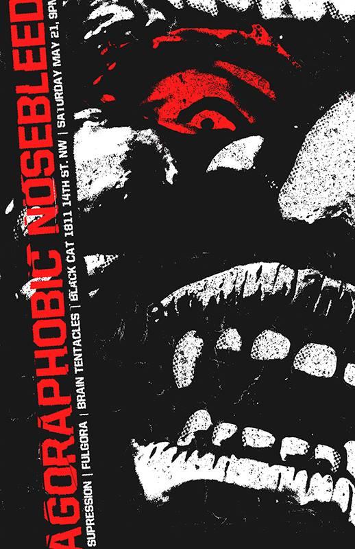 Agoraphobic Nosebleed at the Black Cat