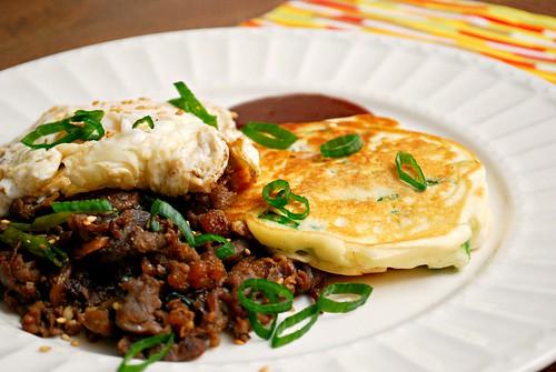 Korean Scallion Pancakes