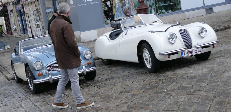 Jaguar XK - Versailles en anciennes Février 2016 24269838544_aeb6f3050c_c