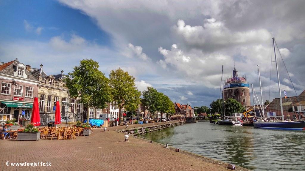Oude Haven Drommedaris Enkhuizen Netherlands 3068