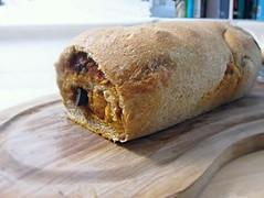 Tomato olive bread
