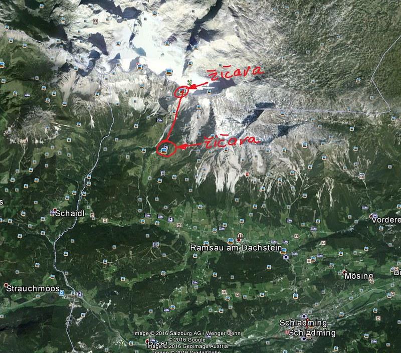 Prilaz na Hoecher Dachtein - Schladming - Ramsau