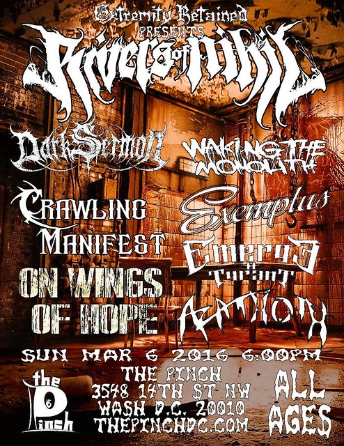 Rivers Of Nihil at the Pinch