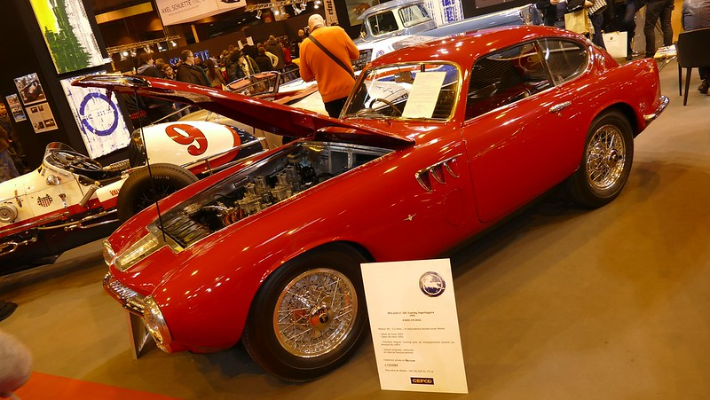Pegaso Z102 / 3,2 litres Touring Superleggera 1955 - Retromobile Paris 2016 25194834795_e946a2cba7_c