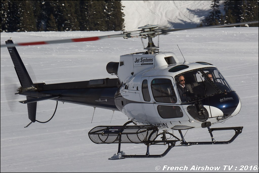 Aérospatiale AS-350 B3 Ecureuil - F-HEIN,Jet Systems ,Salon Hélicoptère à Courchevel 2016, Meeting Aerien 2016