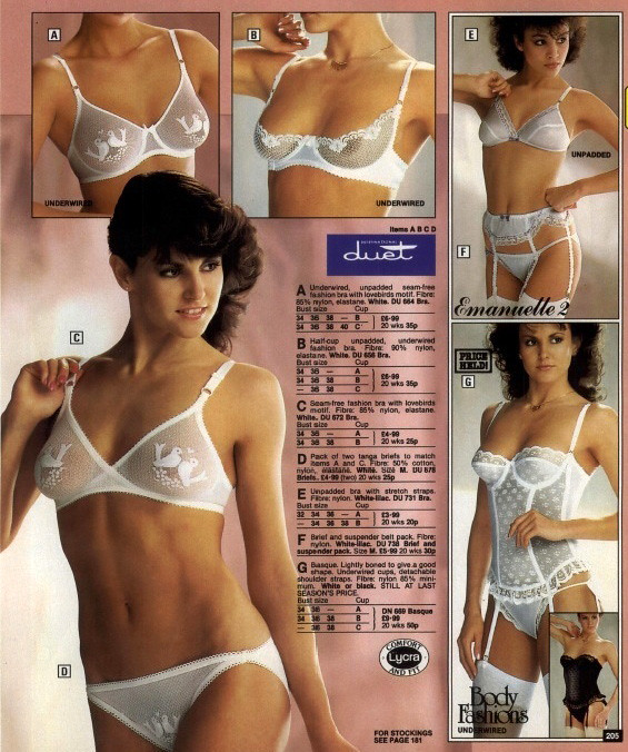 Retrospace Catalogs 46 Bra Panties Part 2