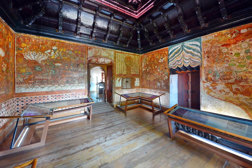 India Kerala Fort Cochin Mattancherry Palace Arche
