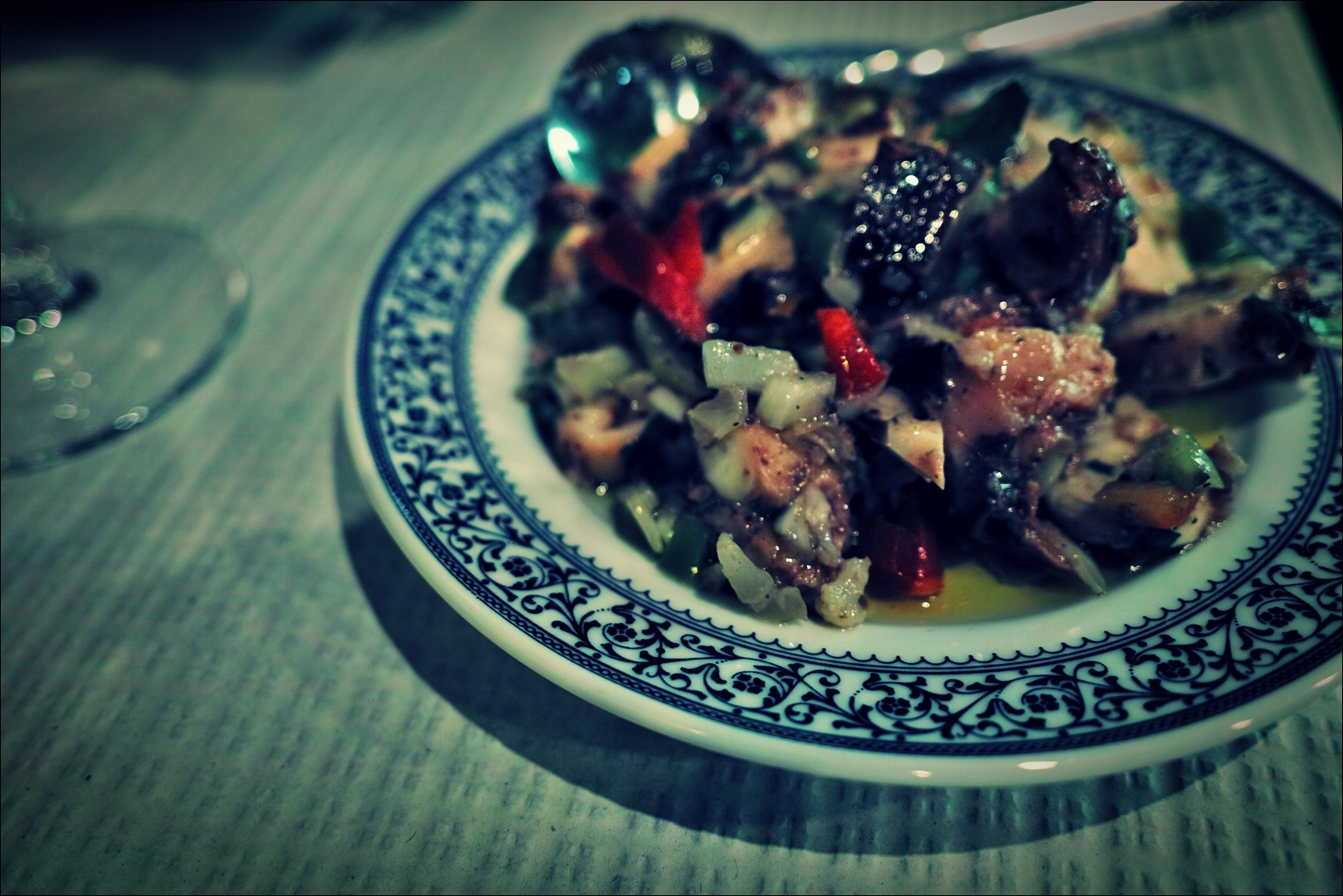문어 샐러드-'리스본 오 치아두 레스토랑 Restaurant O Chiado Lisbon'