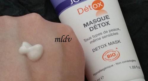 masque Chrono-Détox eau thermale jonzac avis