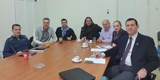 Σύσκεψη για τη διοργάνωση ποδοσφαιρικού αγώνα μεταξύ Ενόπλων Δυνάμεων και Μεικτής ΕΠΣΗΠ