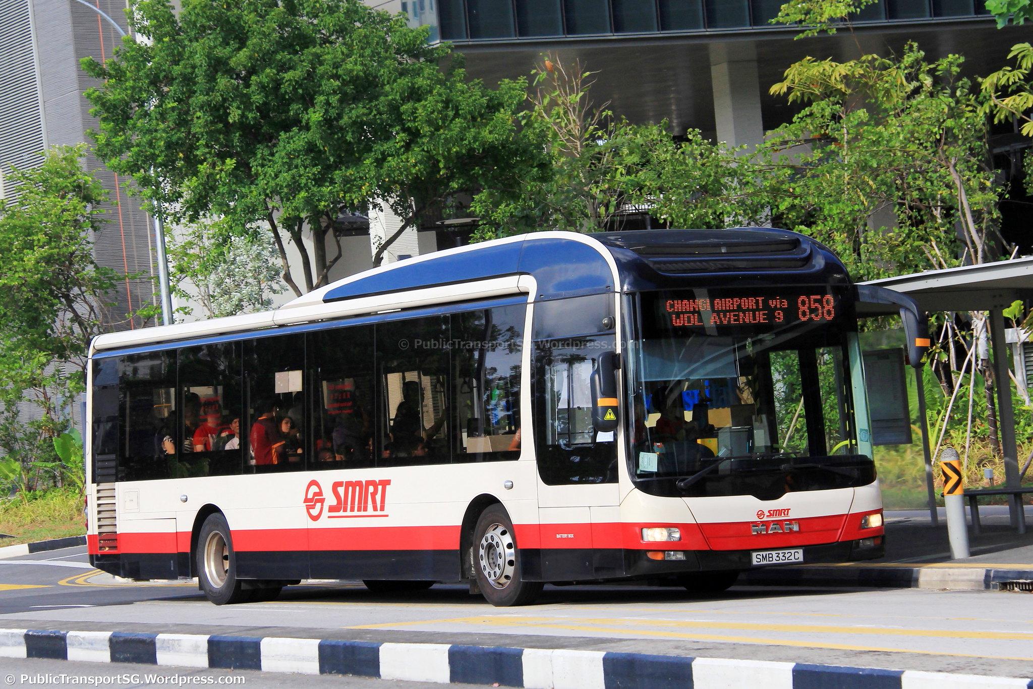 Smrt Bus Service 858 Public Transport Sg