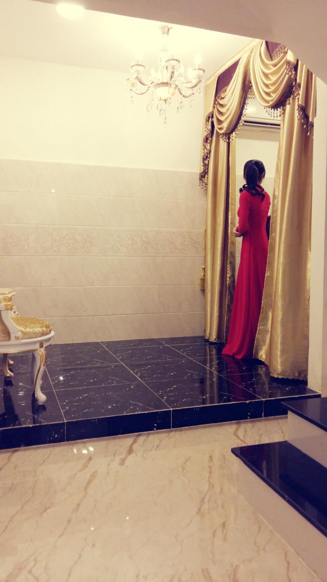 áo dài cưới LAHAVA