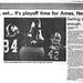 1986 AHS Football scanned newspaper article p024 dated October 28 1986 #AmesHighClassof1986 #AHS1986football #AHS1986