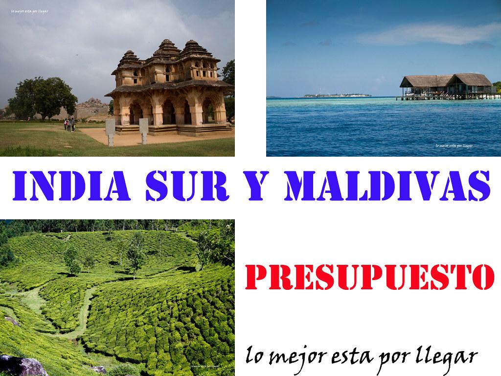 Presupuesto para viajar de mochilero por la India y Maldivas