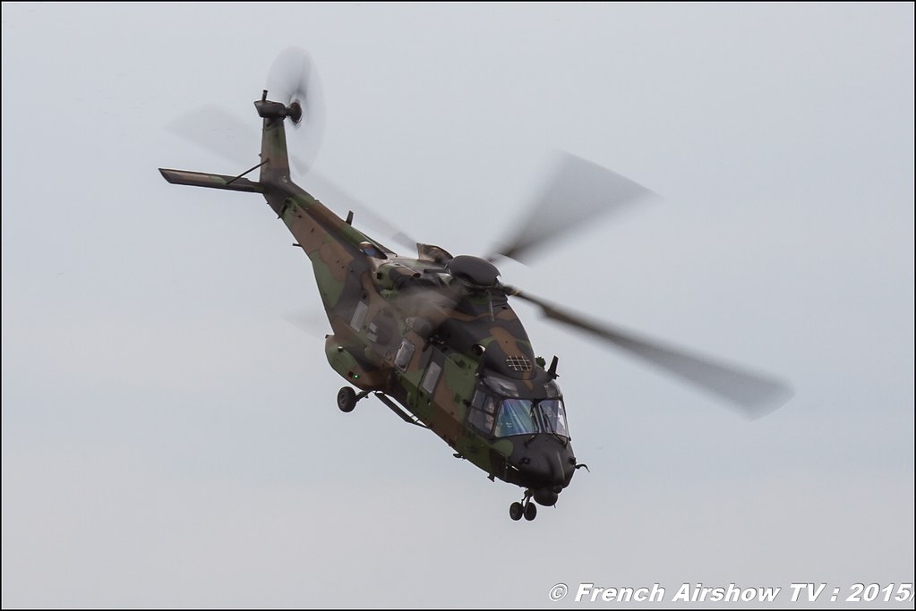 NH Industries NH-90 Caïman Salon du Bourget Sigma France Paris Airshow 2015