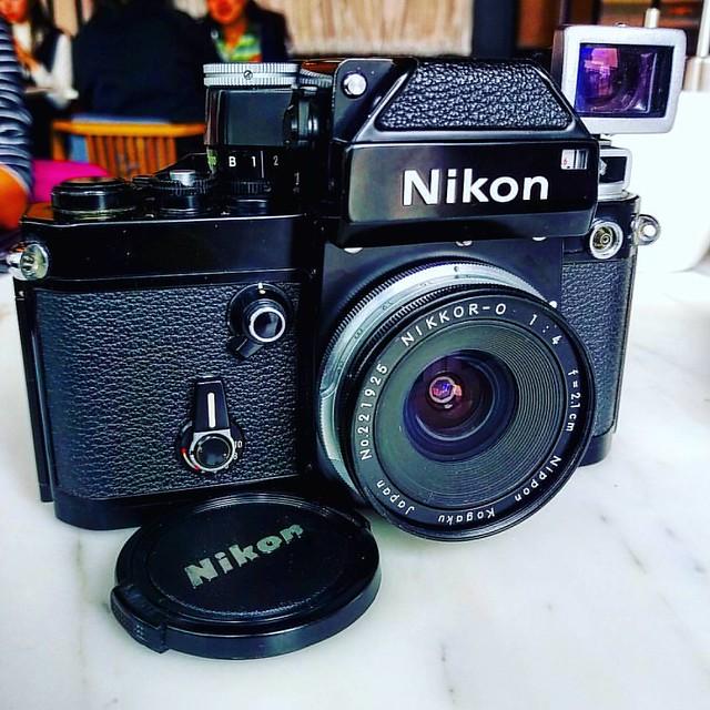 Nikon F2 x Nikon 2.1cm F4 純黑廣角品味