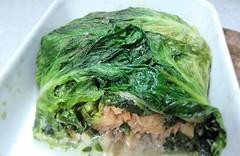 Salmon parcel