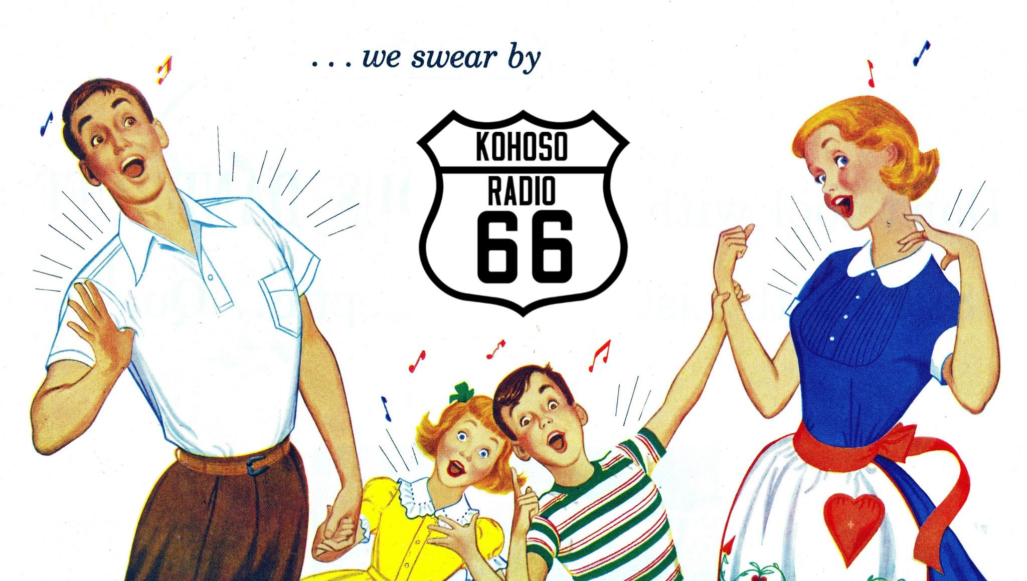 KoHoSo Radio 66 fan art - February 29, 2016