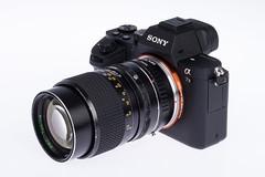 Sony A7II mit RMC Tokina 1:2.8 / 135mm