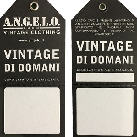 ANGELO vintage of tomorrow tag