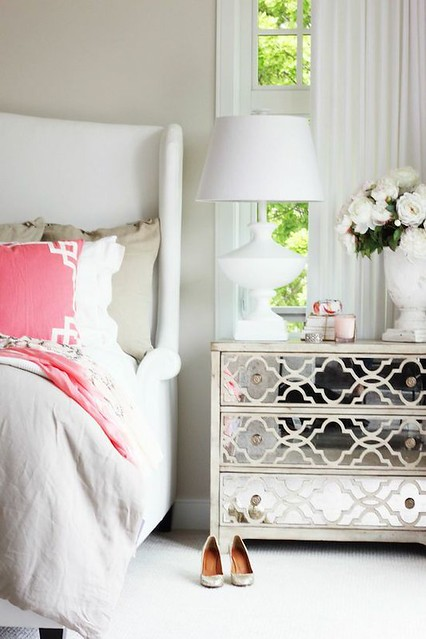 Things That Inspire Mirrored Chests And Nightstands