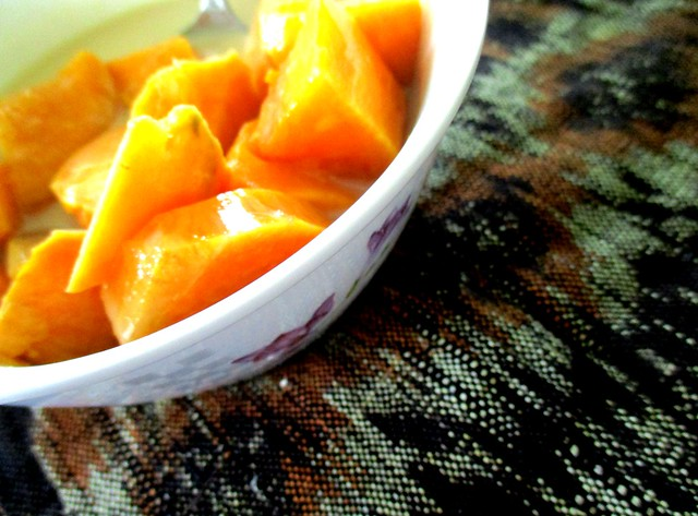 Sweet potato, bubur cacar 2