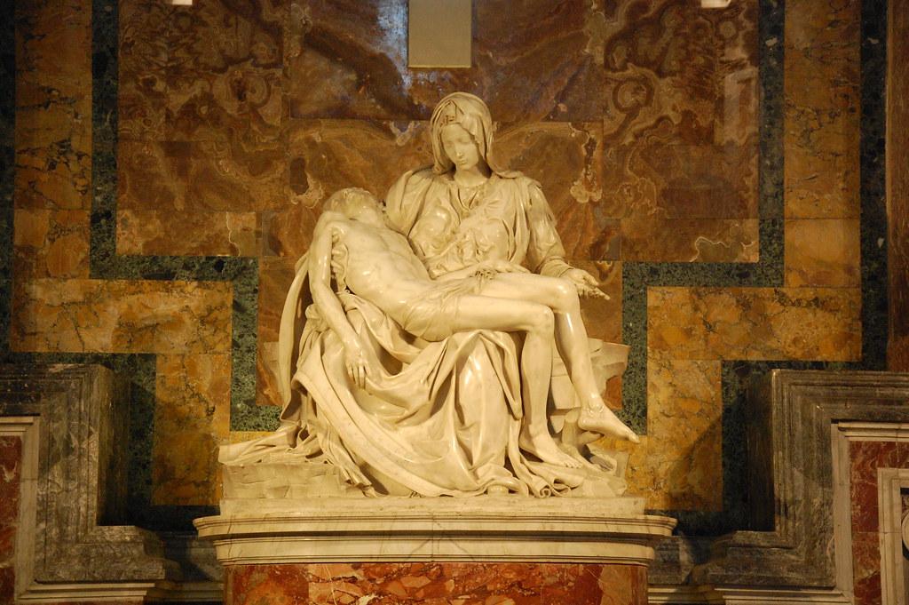 Piedad de Miguel Ángel en el Vaticano