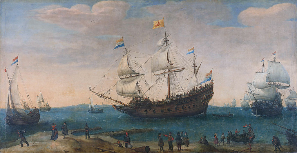 Dutch East-India trading ship 1600