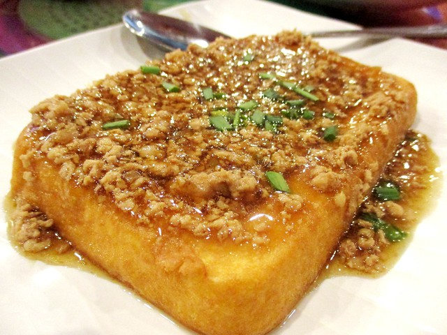 Tung Seng tofu with minced meat