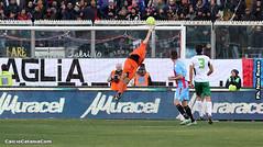 Catania-Juve Stabia, ex: Quanti incroci tra i pali...