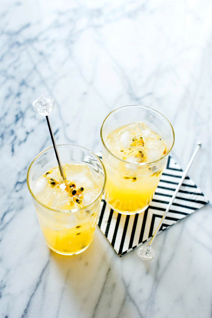 Sparkling Lilikoi Lemonade