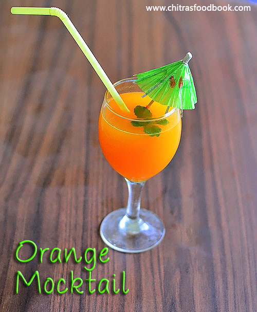 Orange lemon juice recipe