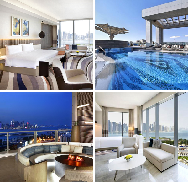 El mejor hotel donde dormir en Doha una noche