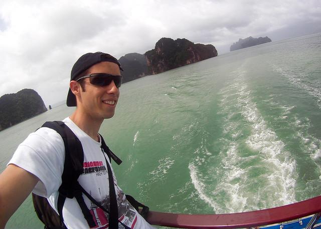 Diario de un Mentiroso por la bahía de Phang Nga en Tailandia