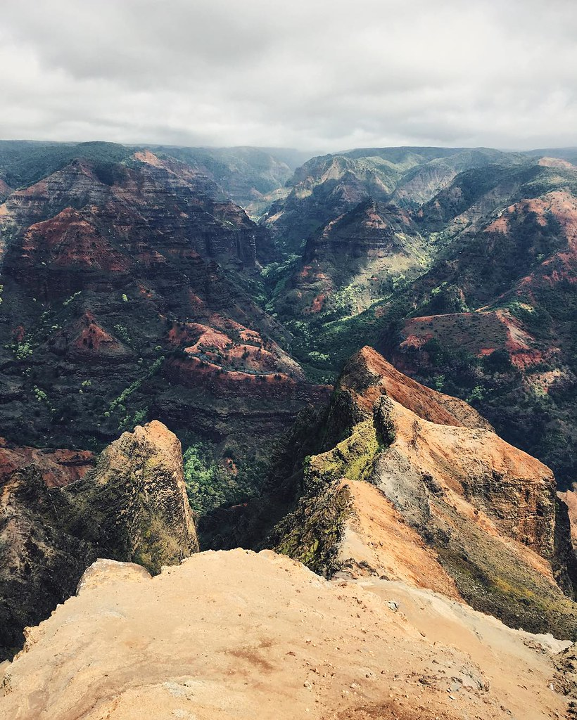 The Grand Canyon Of The Pacific Waimea Canyon In Kauai W