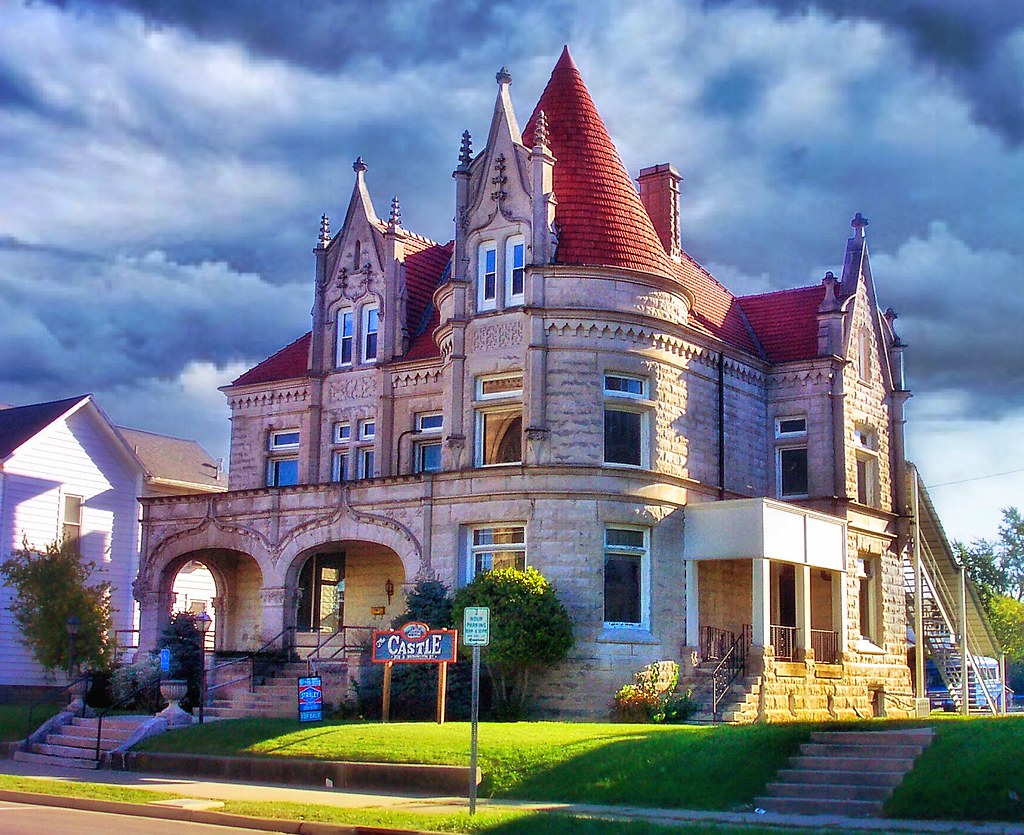 Ohio Van Wert The Castle Historic Victorian Mansion