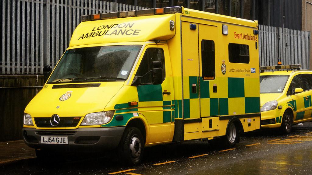 London ambulance service mercedes benz sprinter events for Mercedes benz emergency service