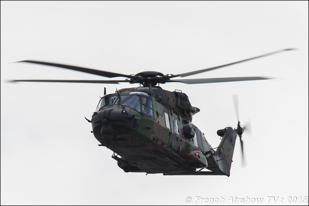 NH-90 Caiman , ALAT , Paris Airshow 2015 , Salon du Bourget 2015 ,lebourget, Meeting Aerien 2015