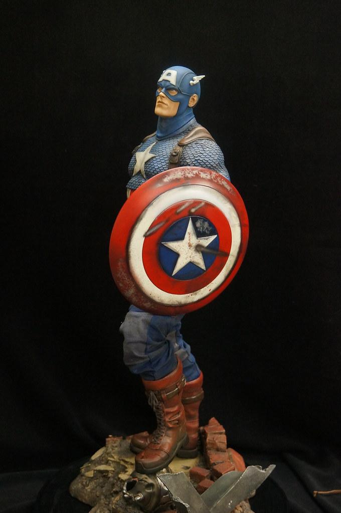 Custom Captain America Premium Format  25508477676_1ca328d5bf_b