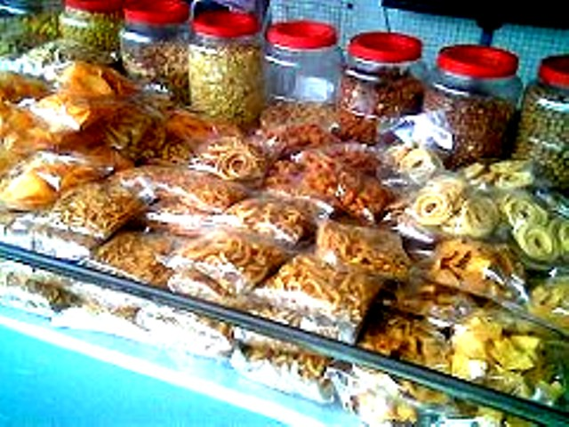 Kacang stall outside Penang cinema