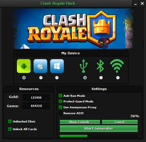 CLASH ROYALE HACK MOD | We are glad to introduce our new ...