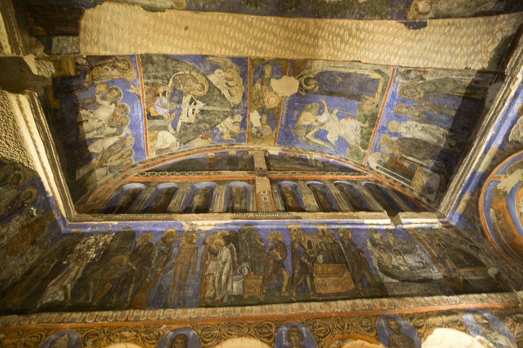 Tokalı Kilise Göreme  This church, one of the largest on ...