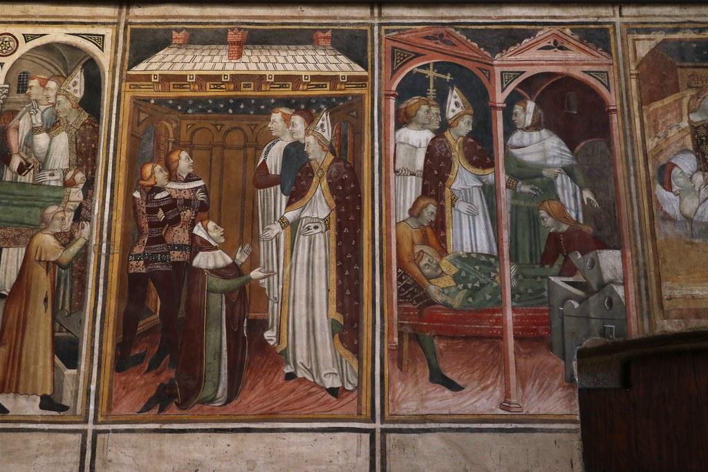 Maestro di lentate affreschi vita di santo stefano 1369 for Boffi cucine lentate sul seveso