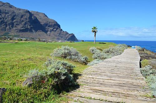 Wooden walkway, Buenavista del Norte, Tenerife