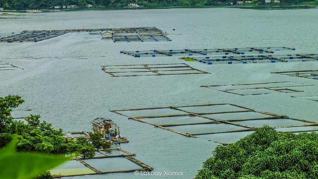 Lakbay Xiomai | San Pablo Laguna - Seven Lakes, Sampaloc Lake - Fishpens