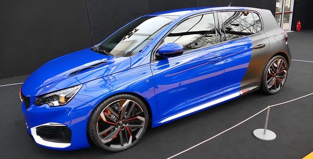 Cul noir pour le Secma F16/200T façon Peugeot Sport 24591223772_8f8ce82d1c_z