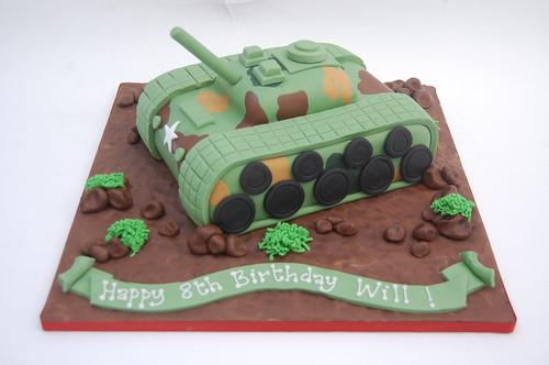 Groovy Tank Cake Beautiful Birthday Cakes Funny Birthday Cards Online Elaedamsfinfo